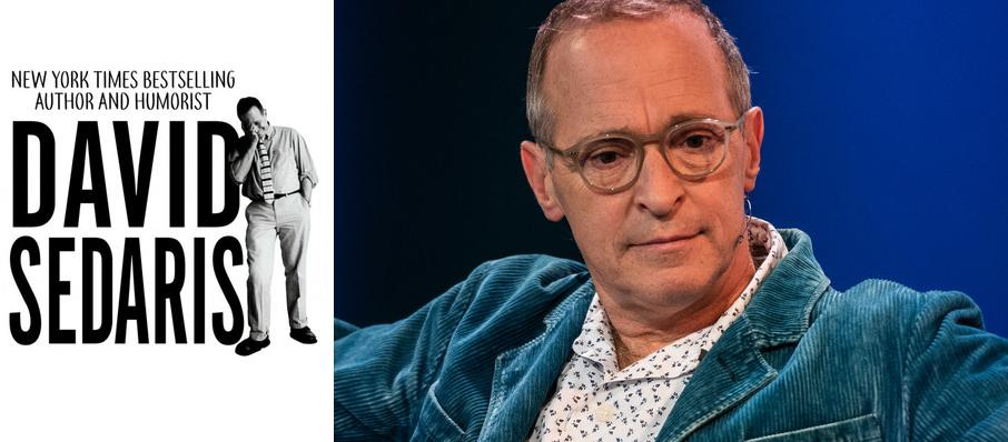 David Sedaris at Overture Hall