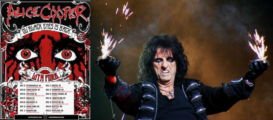 Alice Cooper at Orpheum Theatre