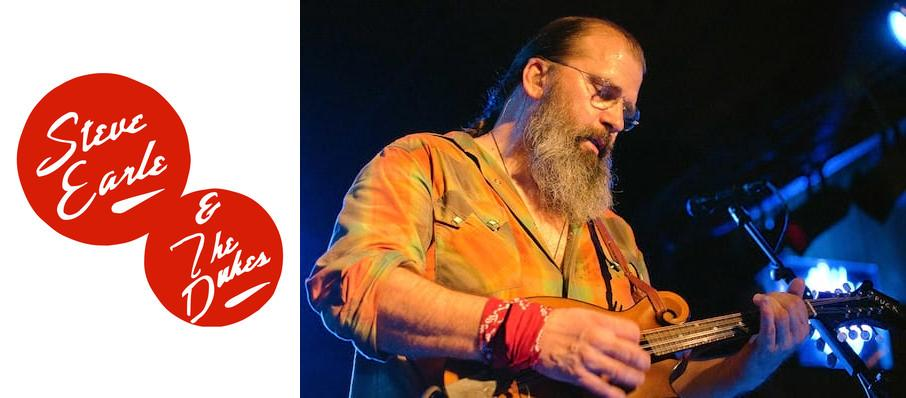 Steve Earle at Barrymore Theatre