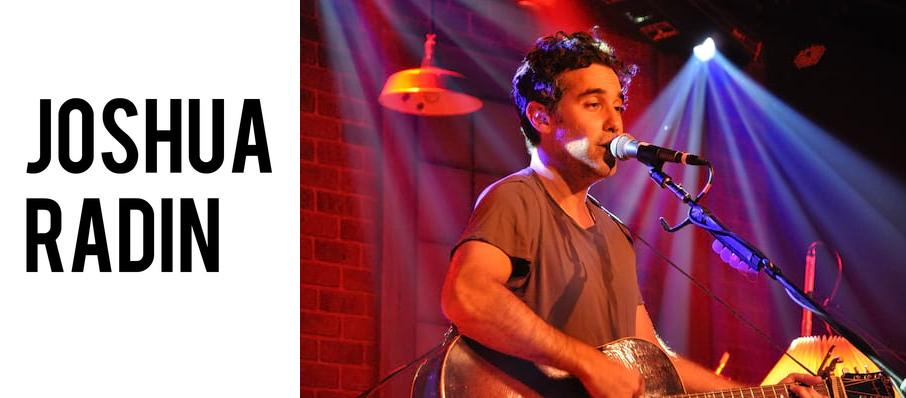 Joshua Radin at Barrymore Theatre