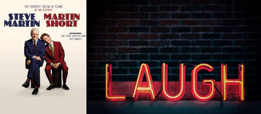 Steve Martin & Martin Short at Overture Hall