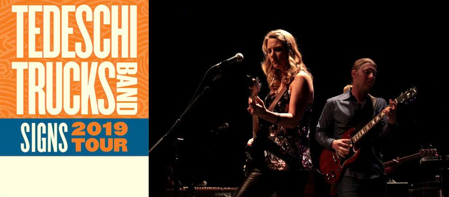 Tedeschi Trucks Band at Overture Hall