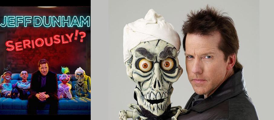 Jeff Dunham at Alliant Energy Center Coliseum