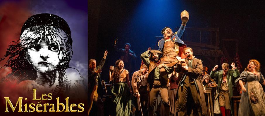 Les Miserables at Overture Hall