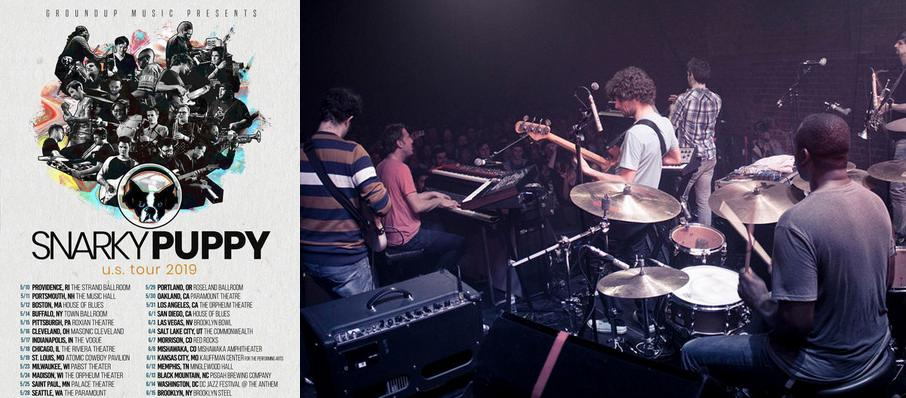 Snarky Puppy at Orpheum Theatre