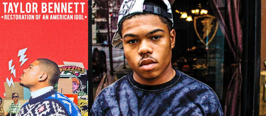 Taylor Bennett at Majestic Theatre