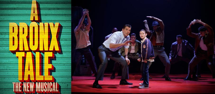 A Bronx Tale at Overture Hall