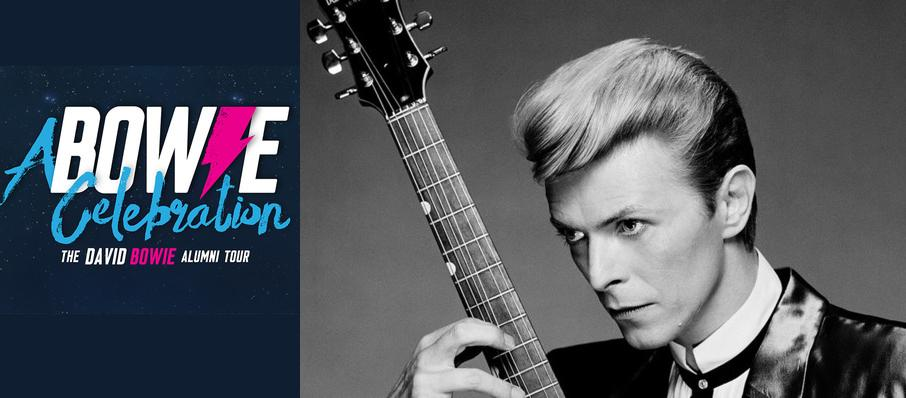 A Bowie Celebration - The David Bowie Alumni Tour at Orpheum Theatre