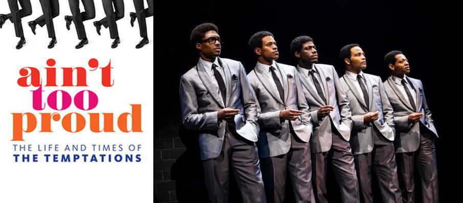Ain't Too Proud - The Life and Times of the Temptations at Overture Hall