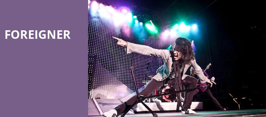 Foreigner, The Sylvee, Madison