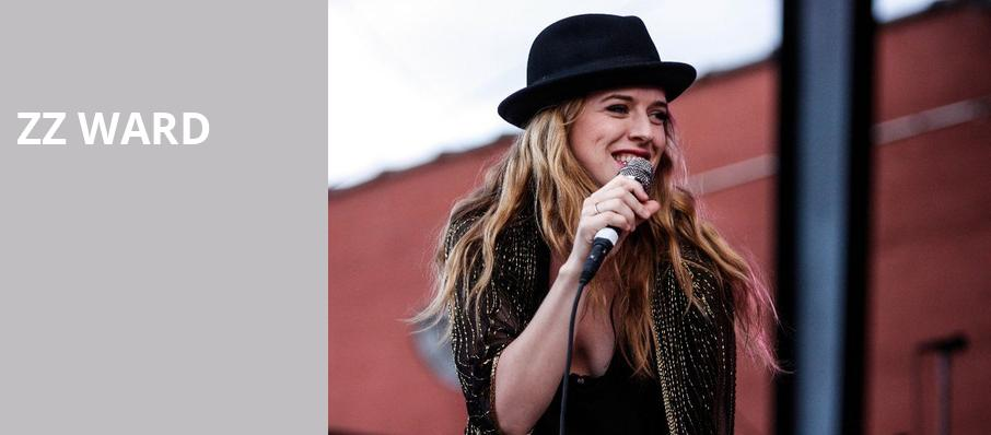 ZZ Ward, Barrymore Theatre, Madison