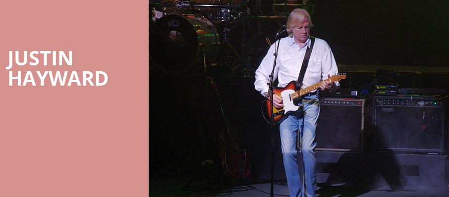 Justin Hayward, Barrymore Theatre, Madison