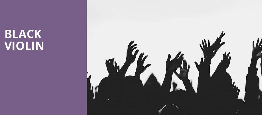 Black Violin, Capitol Theater, Madison