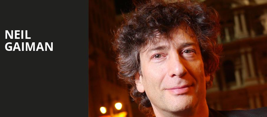 Neil Gaiman, Orpheum Theatre, Madison