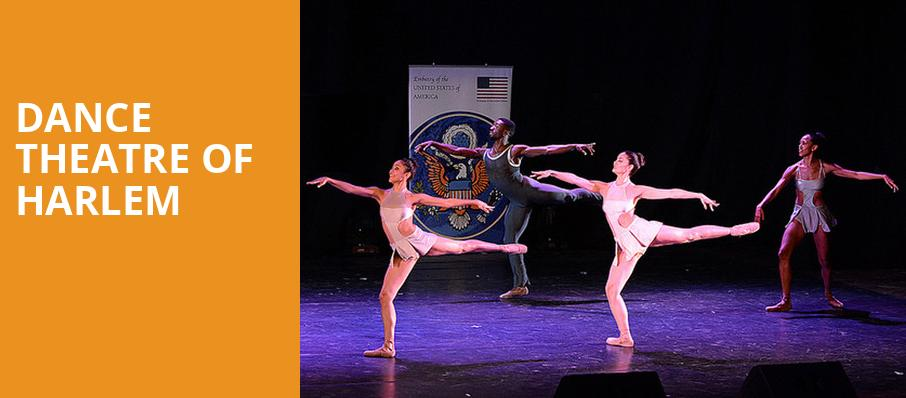 Dance Theatre of Harlem, Overture Hall, Madison