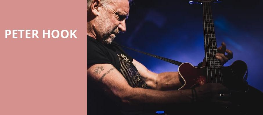 Peter Hook, Majestic Theatre, Madison