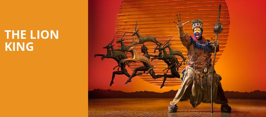 The Lion King, Overture Hall, Madison
