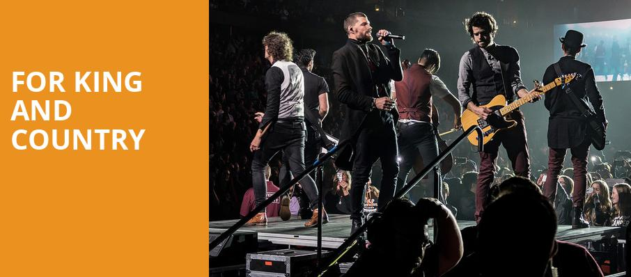 For King And Country, Alliant Energy Center Coliseum, Madison