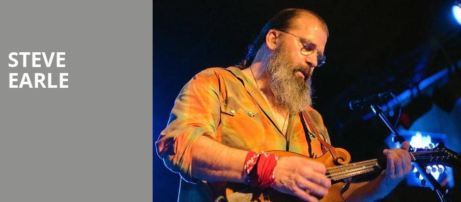 Steve Earle, Barrymore Theatre, Madison