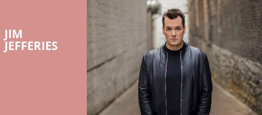Jim Jefferies, Orpheum Theatre, Madison