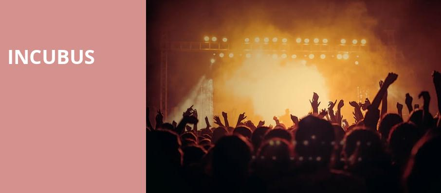 Incubus, The Sylvee, Madison