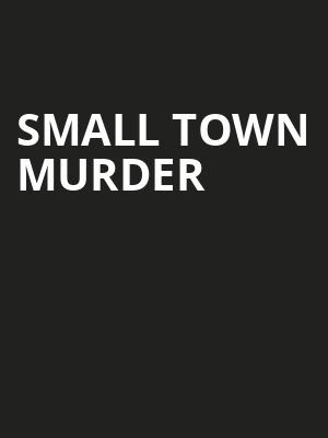 Small Town Murder Poster
